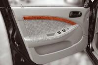 Decor interiéru Chevrolet Lacetti 4/5dv. -- od roku výroby 3/2004- umístění dveřní lišty - 4 díly