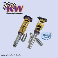 KW nastavitelný podvozek VARIANTA 3 Chevrolet Corvette C6, Z06 Coupe - výkon motoru 376kW -- od roku výroby 2006- ( regulace snížení přední nápravy 0-30mm, zadní nápravy 0-30mm )
