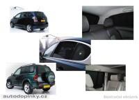 Privacy Shades přesné protisluneční clony - 6 dílná sada Chevrolet Lacetti Wagoon -- rok výroby 2003-08